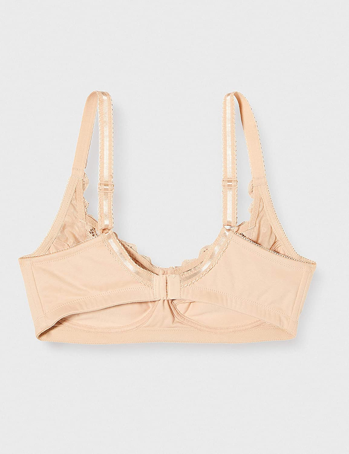 Bestform 11440-104 Womens Cocoon Nude Lace Non-Wired Full Cup Bra