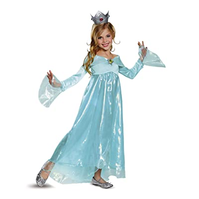 Rosalina Deluxe Costume, Blue, Small (4-6X): Toys & Games