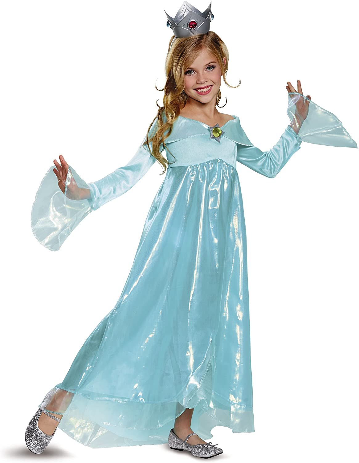 Rosalina Deluxe Costume, Blue, Small (4,6X)