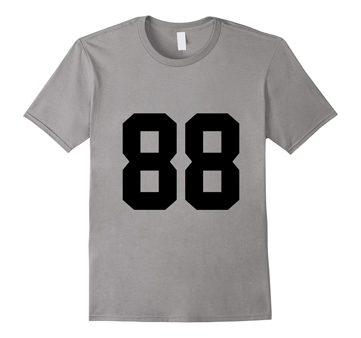 #88 Number 88 Sports. Jersey T-shirt My Favorite Player #88-TH