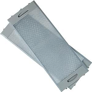 MIRTUX Filtro Metálico Campana Teka (Incluye 2 Unidades). Medida: 19 X 50 cms. Válida para Diferentes Modelos de Campana: CNL2000, CNL1000… (Ver compatibiidades en descripción).: Amazon.es: Hogar