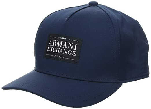 Armani Exchange Gorra de béisbol para Hombre