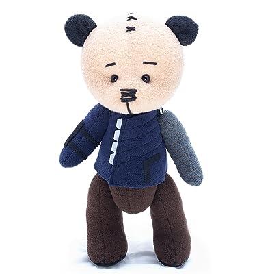 Bucky Winter Soldier Infinity War bear - marvel superhero movie comic plush toy avengers bucky barnes