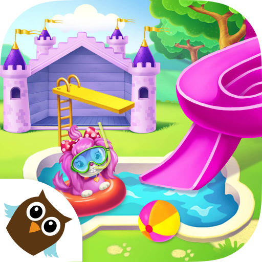 Pink Dog Mimi - My Virtual Pet Puppy Care & Games (Train Underwater)