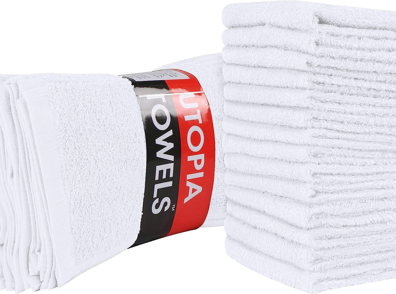 Anthrazit superweich und saugstark Fingerspitzen-Handt/ücher 30 x 30 cm 4 St/ück Flanell Towelogy/® Waschlappen aus /ägyptischer Baumwolle Set mit 500 g//m/²