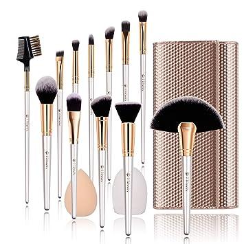 7cbfdab5e1e4b Make up Brushes,TTRWIN 12 Pcs Professional Makeup Brush Set,Face EyeShadow  Eyeliner...