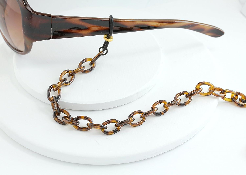 Maetri Eyewear Tortoise Shell Eyeglass Chain
