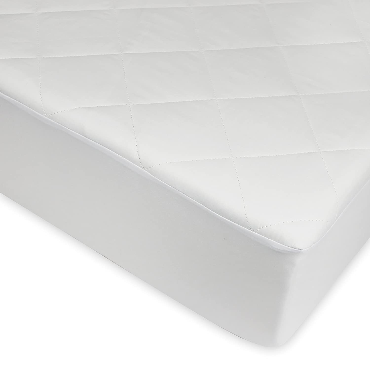 Century Home C700-147 Signature Collection Quilted Silk Mattress Pad, Queen Century Home Fashions