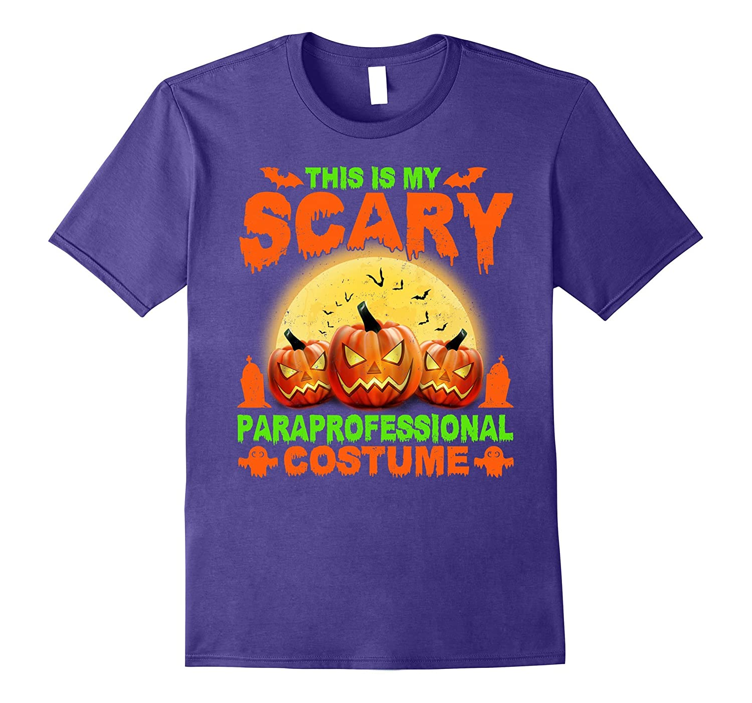 This Is My Scary Paraprofessional Costume T-shirt-BN