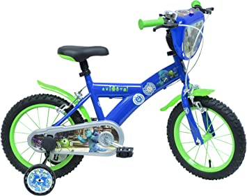 Disney Monsters Academy University Bicicleta niño: Amazon.es ...