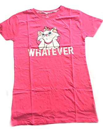 125710cd Ladies Girls Disney Marie CAT Aristocats Nightshirt Nightdress Nightwear  Size S - XL (UK XS (4)) (UK XS (6-8)): Amazon.co.uk: Clothing