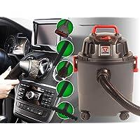CARAMBA Auto 5.0 Nass Trocken Sauger - Staubsauger mit Blasfunktion mit 5 Düsen - perfekt abgestimmt für die Auto Innen Reinigung, Polster Sitze Fußmatten Kofferraum sowie zum trocknen und ausblasen