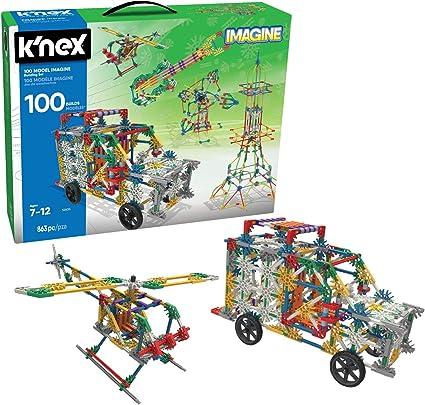 Lot of 300 KNEX RODS /& CONNECTORS Mixed Pieces Parts K/'NEX