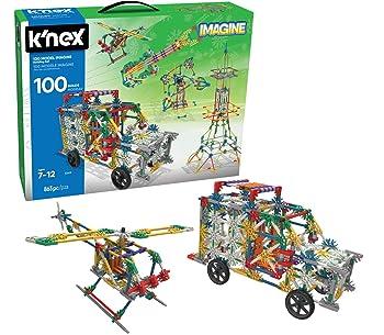 K'NEX 100 Model Imagine Lego Set For Kids