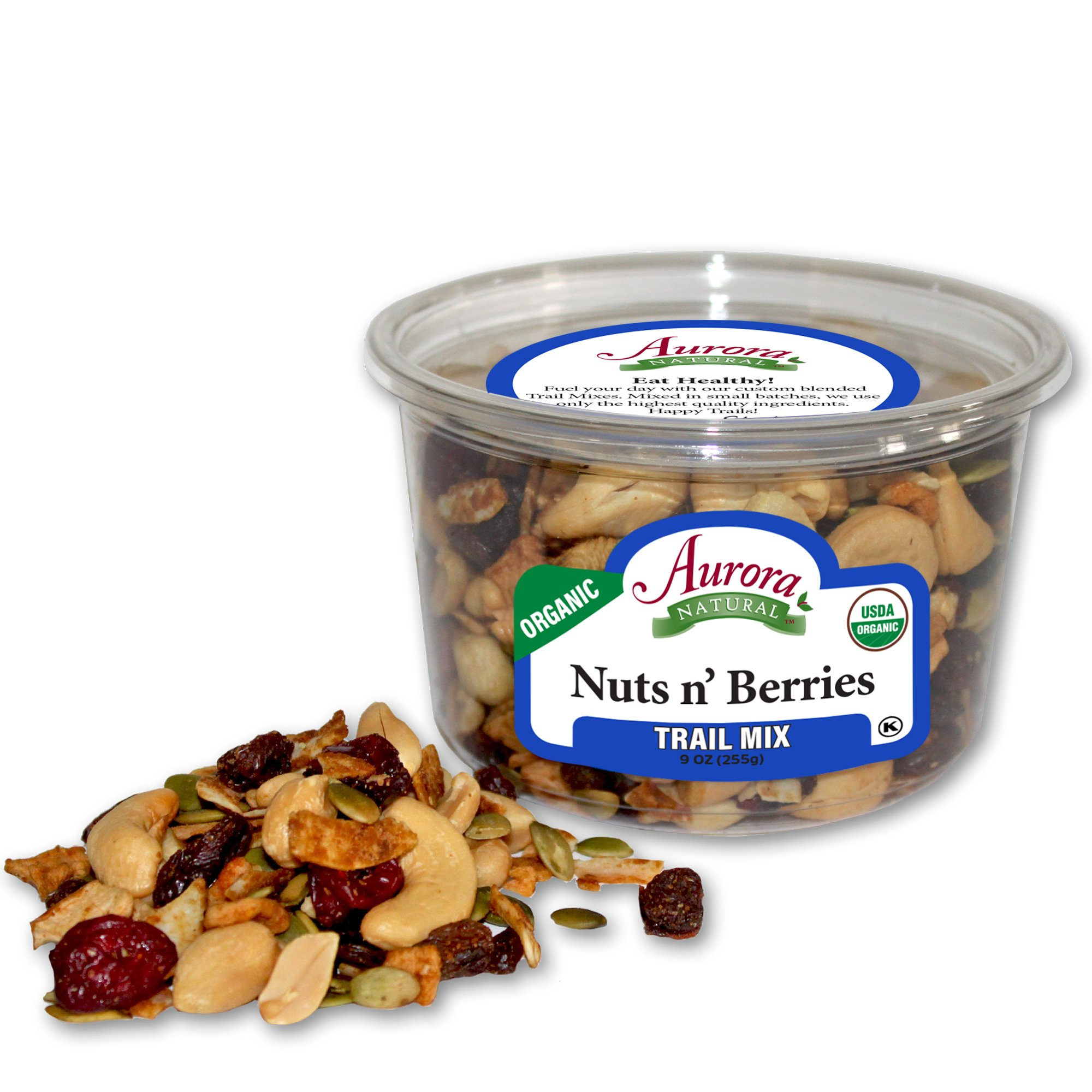 Aurora Natural Products Organic Nuts & Berries, 9 Ounce
