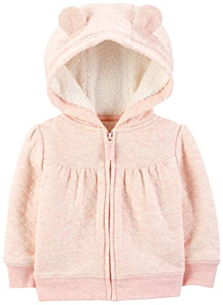 5032f8f0d Amazon.com  Simple Joys by Carter s Baby Girls  Hooded Sweater ...