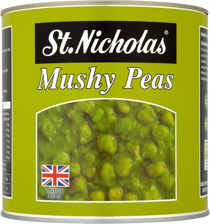 St Nicholas Catering Mushy Peas 6x2 61kg Amazon Co Uk Grocery