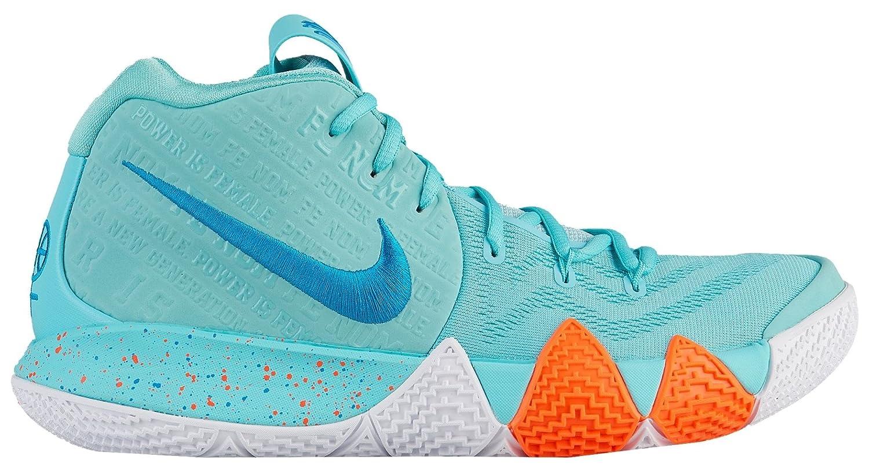 sale retailer fe239 a335c Amazon.com   Nike Men s Kyrie 4 Basketball Shoes (13, Light Aqua)    Basketball