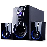Zebronics BT2490RUCF 2.1 Channel Multi Media Speaker (Black)