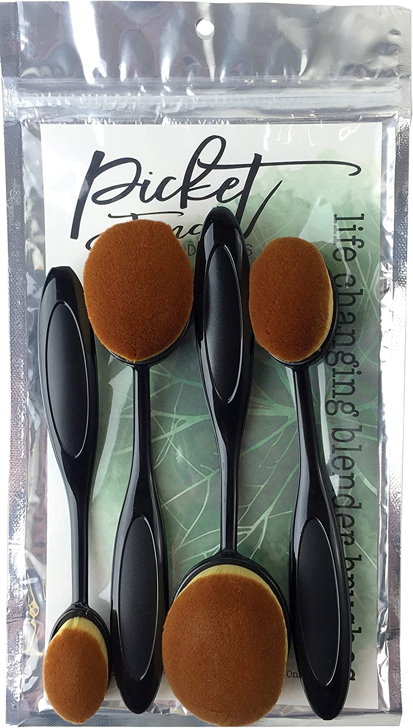 Picket Fence Studios BR-103 Blender Brushes 4/Pkg