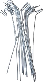 annys lawn stakes for christmas yard lights heavy duty galvanized steel wire 10 long 20 - Christmas Light Yard Stakes