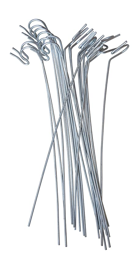 Annys Lawn Stakes for Christmas Yard Lights-Heavy Duty Galvanized Steel  Wire 10 long 20 - Amazon.com: Annys Lawn Stakes For Christmas Yard Lights-Heavy Duty