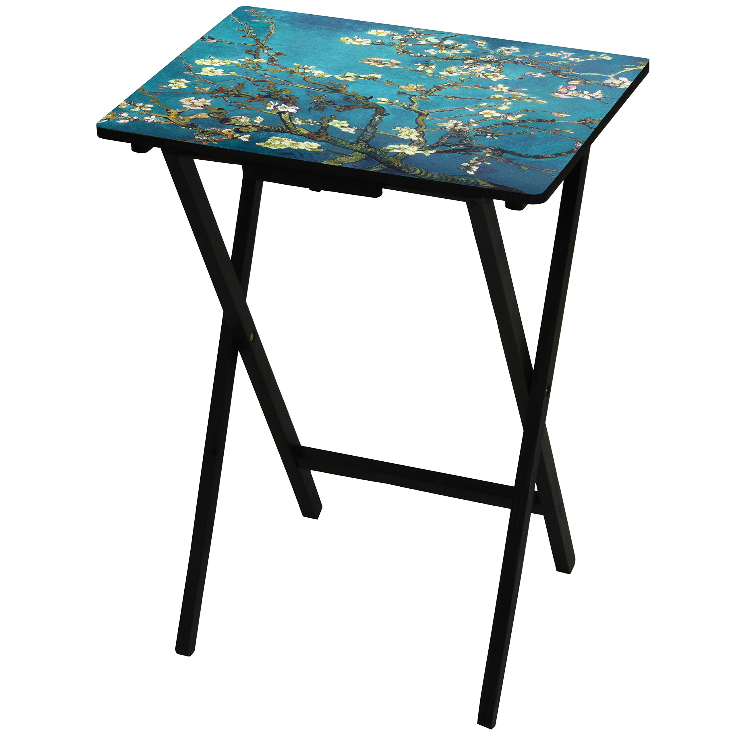 ORIENTAL FURNITURE Van Gogh Almond Blossoms TV Tray by ORIENTAL FURNITURE