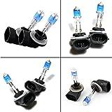 Arctic Cat TRV 400 H1 2010 881 Xenon HID Hyper Blue / White Headlight Bulbs Bulb