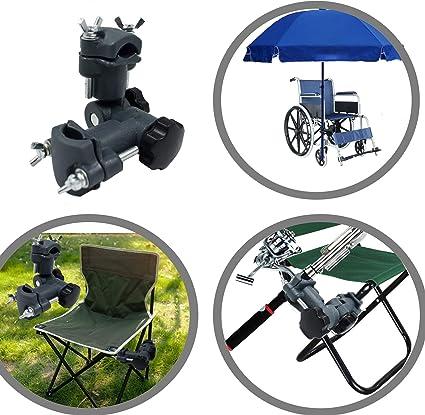 Multi-purpose Fishing Chairs Mount Umbrella Stand Holder Bracket Bait Rod Rack