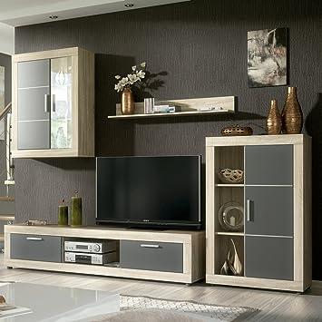 HomeSouth - Mueble de comedor con leds, salon vitrina modelo Fiordo ...
