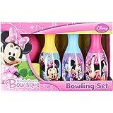 Disney Little Girls' Minnie Mouse Bow-tique Bowling Set