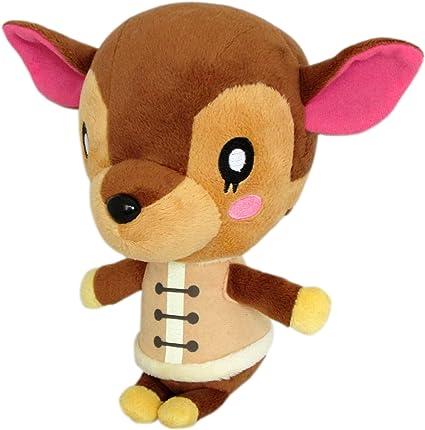 Amazon Com Little Buddy Usa Animal Crossing New Leaf Fauna Doremi 7 Plush Toys Games