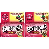 Flintstones Chewable Kids Vitamins with Iron, Multivitamin for Kids & Toddlers with Vitamin D, Vitamin C & More, 60ct 2…