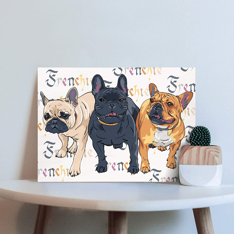 Custom Woodblock Pet Art