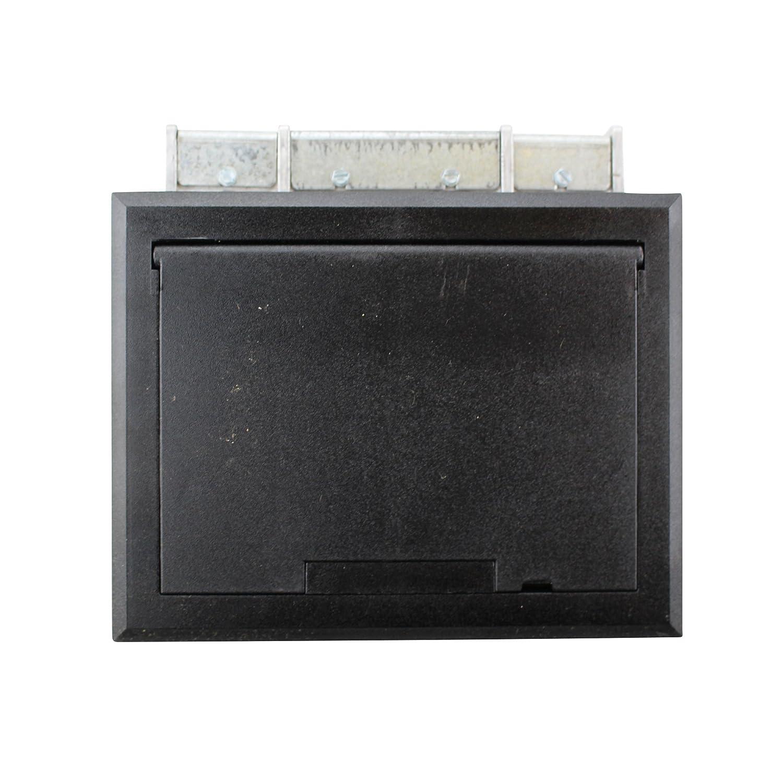 Wiremold Legrand AF1-KT Raised Floor Box w. Black Tile Cover ...
