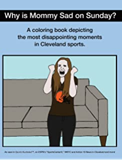 disappointing moments in cleveland sports coloring book - Cleveland Sports Coloring Book
