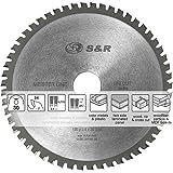 S&R Disque Lame de scie circulaire 190x30x2,4mm, 54 dents, pour tous les matériaux