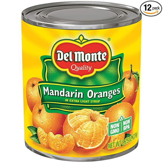Mandarin Orange Thermos Set