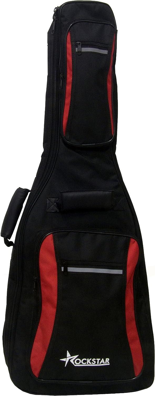 Funda para guitarra clásica española ROCKSTAR GBD1002C acolchada: Amazon.es: Instrumentos musicales