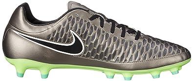 official photos 0e28b 1e6ed Nike Men s Magista Onda Fg MTLC Pewter Black Ghst Grn Wht Soccer Cleat