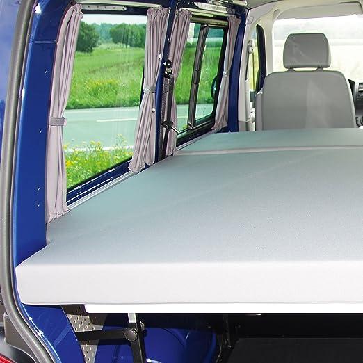 Volkswagen T5 Bike & Surf Cama grande para actualización de furgoneta, 125 x 200 cm, altura regulable: Amazon.es: Coche y moto