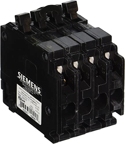 Siemens Q22020CT Triple Circuit Breaker, Plug-In, 20 20 Amps