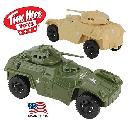Amazon Com Tim Mee Recon Patrol Armored Cars Plastic Army Men