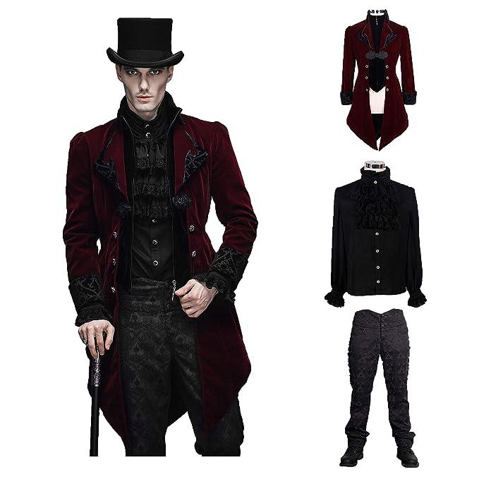 Amazon.com: Devil Fashion - Conjunto de 3 piezas de chaleco ...