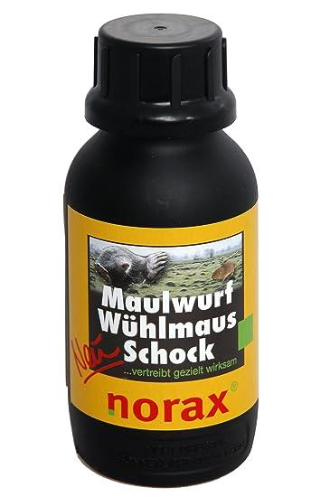 Maulwurfbekämpfung norax maulwurf wühlmaus schock 500 g granulat zur