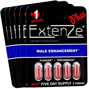 Amazon Com Extenze Plus 30 Tablets 6 5 Pill Packs Health
