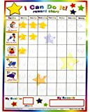 "Kenson Kids - ""I Can Do It"" Reward and Responsibility Chart Made in the USA. 11"" X 15.5"