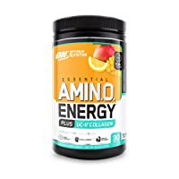Optimum Nutrition Amino Energy + Collagen Powder - Vitamin C for Immune Support,...