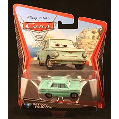 Disney/Pixar Cars 2 Petrov Trunkov #18 1:55 Scale: Toys & Games