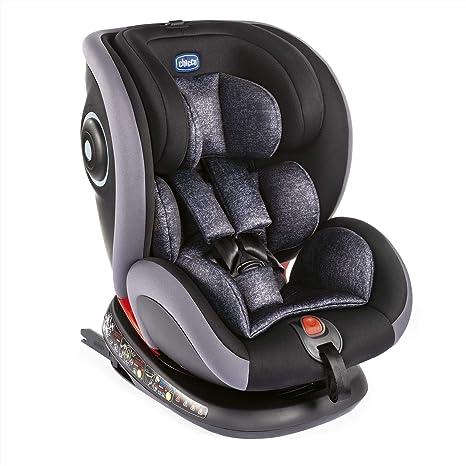 Chicco Silla de Auto Seat4Fix Graphite - Sillas de Coche, Grupo 0+/1/2/3, Unisex: Amazon.es: Bebé